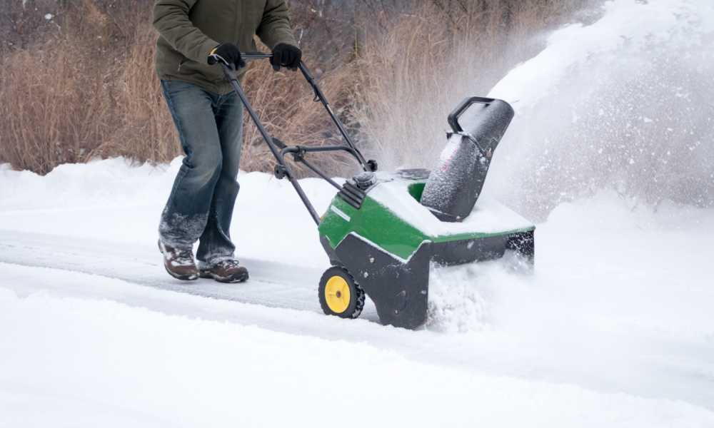 Jonsered Single Stage Snow Blower Review